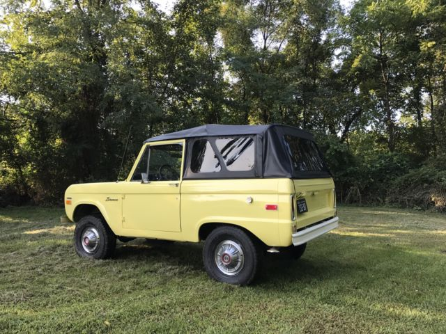 1970 Ford Bronco Convertible with Half-Cab for sale - Ford ...