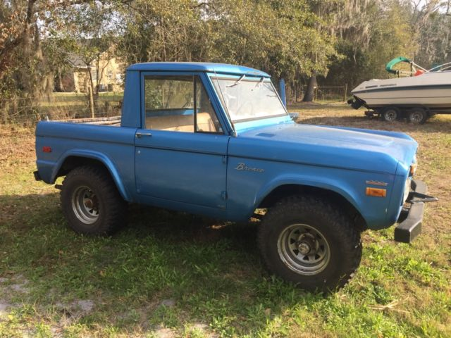 1970 ford bronco half cab for sale ford bronco 1970 for sale in palatka florida united states. Black Bedroom Furniture Sets. Home Design Ideas