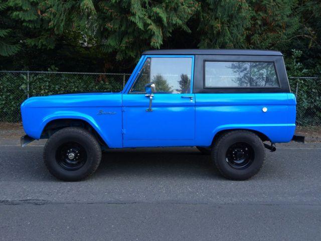 1970 ford bronco restomod fuel injected 302 disk brakes. Black Bedroom Furniture Sets. Home Design Ideas