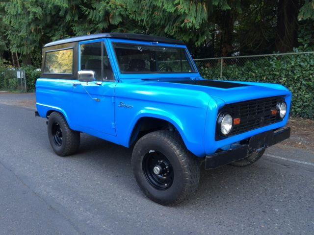 1970 ford bronco restomod fuel injected 302 disk brakes 1966 1968 1972 1977 for sale ford. Black Bedroom Furniture Sets. Home Design Ideas