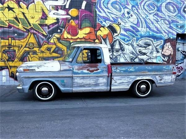 1970 Ford F-100 / Crown Vic Full swap for sale - Ford F-100
