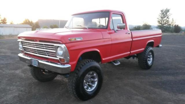 1970 ford f 250 4x4 pickup truck new paint new motor for Ford truck motors for sale