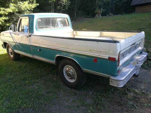 1970 ford f250 pickup truck all original newly rebuilt motor and trans no rust for sale ford. Black Bedroom Furniture Sets. Home Design Ideas