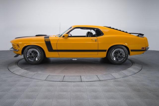 1970 ford mustang boss 302 74670 miles grabber orange fastback 302 v8 4 speed ma for sale ford. Black Bedroom Furniture Sets. Home Design Ideas