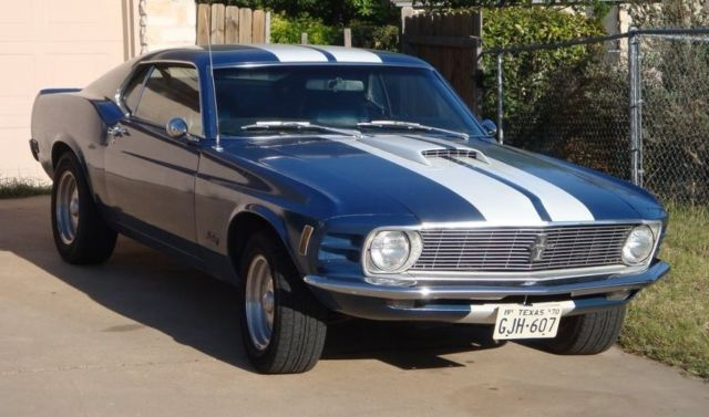 1970 ford mustang fastback 351c factory ac muscle car american dream for sale ford mustang. Black Bedroom Furniture Sets. Home Design Ideas