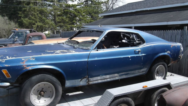 1970 Ford Mustang Fastback Project for sale - Ford Mustang ...