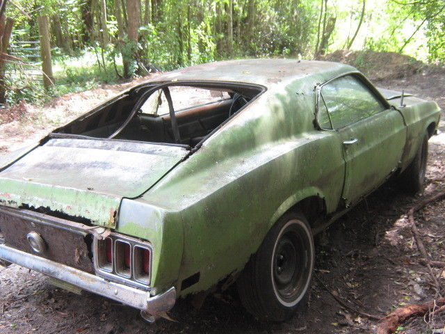 1970 ford mustang fastback project super cheap complete v8 project car for sale ford mustang. Black Bedroom Furniture Sets. Home Design Ideas