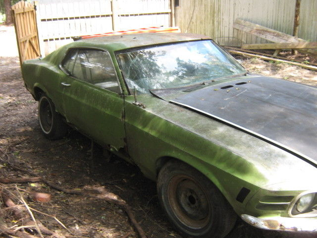 1970 Ford Mustang Fastback Project Super Cheap Complete