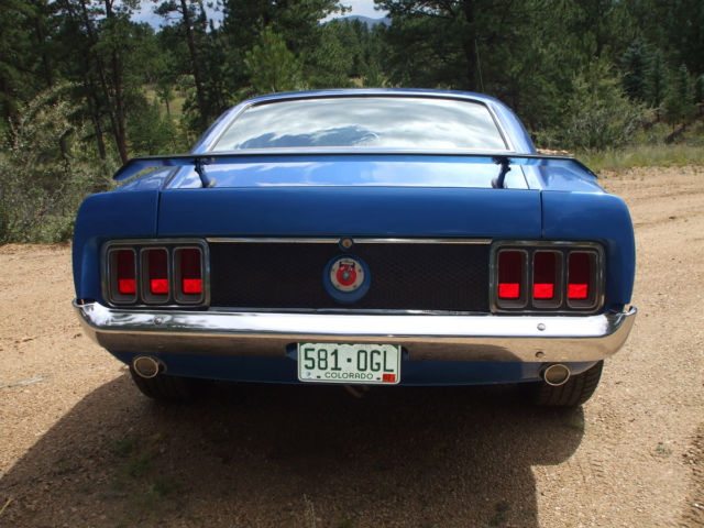 1970 Ford Mustang fastback-street/strip built 351 Cleveland 4 speed