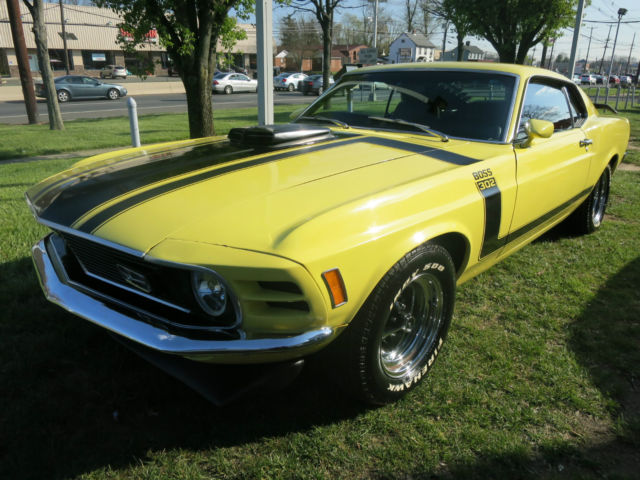 1970 Ford Mustang Mach I Fastback 5 0l Boss 302 Tribute W 4