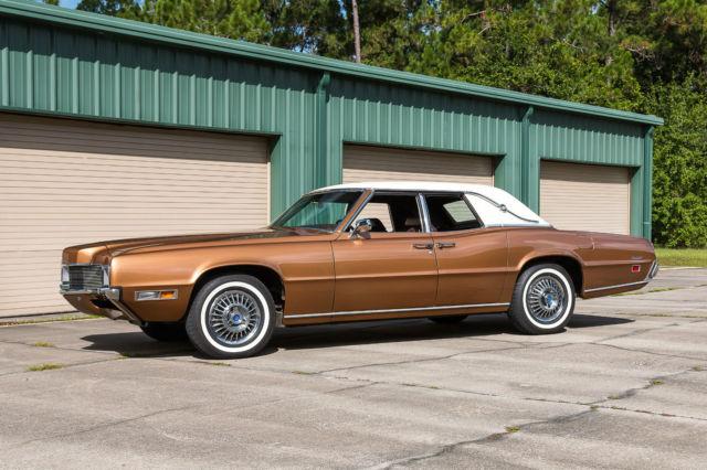 1970 Ford Thunderbird Base Sedan 4 Door 7 0l Copper For