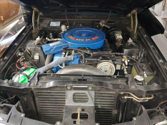1970 Ford Torino GT Black on Black all original Cold A/C