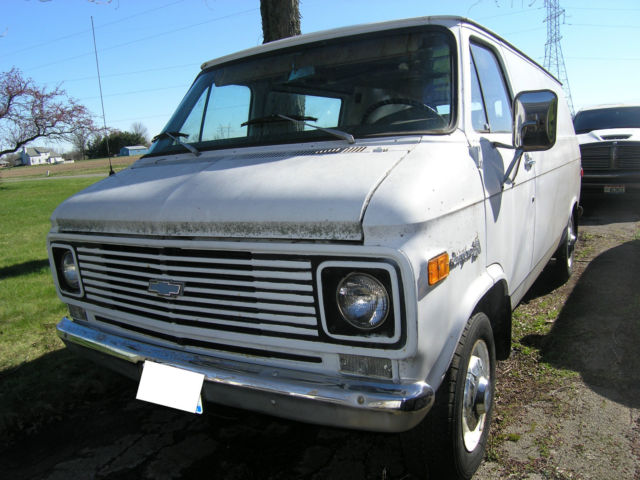 1970 g30 chevrolet van retired ems 33k actual miles very minimal rust for sale chevrolet other. Black Bedroom Furniture Sets. Home Design Ideas
