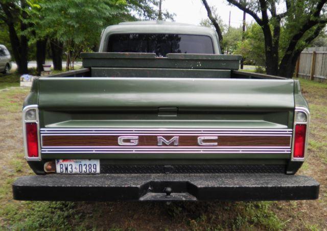 1970 GMC 1500 Fleetside Pickup Truck 1/2 Ton Long-Bed