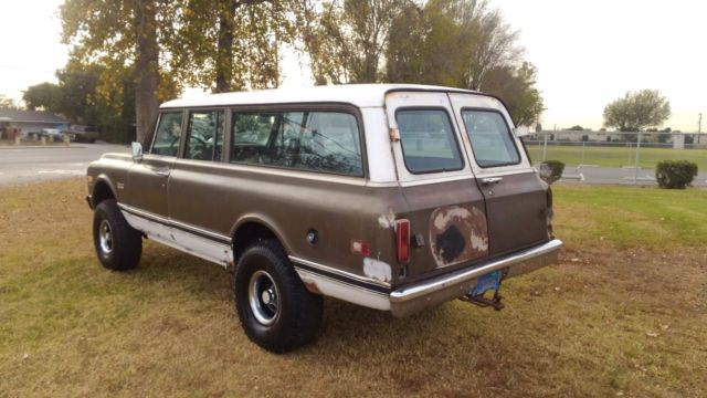 1970 gmc suburban chevy c10 4x4 k10 custom c20 carryall ...