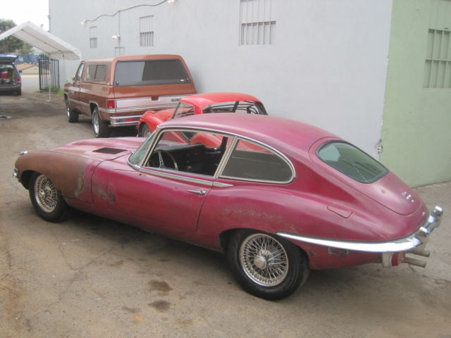 1970 jaguar e type coupe 2 2 stick shift 4 speed california car for sale jaguar e type. Black Bedroom Furniture Sets. Home Design Ideas
