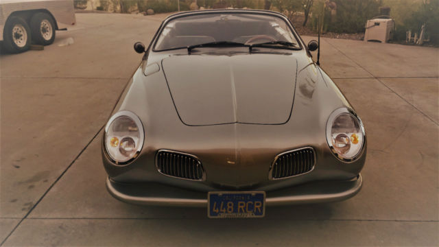 1970 Karmann Ghia Roadster with removable top mini cooper headlights BMW grilles for sale ...