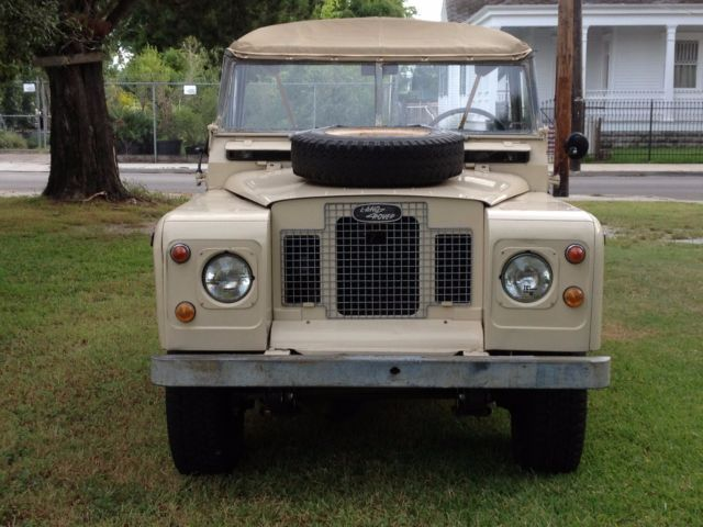Land Rover New Orleans >> 1970 Land Rover Series 2a for sale - Land Rover Other 1970 for sale in New Orleans, Louisiana ...