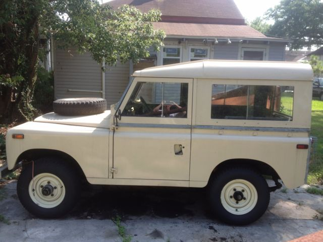 1970 land rover series 2a for sale land rover other 1970 for sale in new orleans louisiana. Black Bedroom Furniture Sets. Home Design Ideas