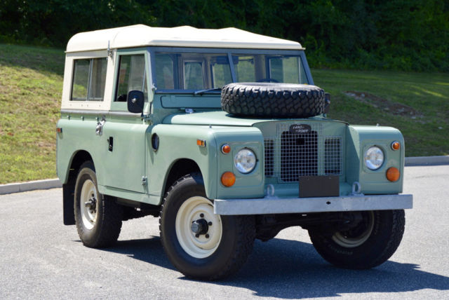 1970 land rover series ii 88 price lowered for sale land rover defender 1970 for sale in. Black Bedroom Furniture Sets. Home Design Ideas