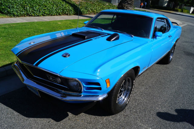 1970 MACH 1 HIGHLY FACTORY OPTIONED WITH 351 CLEVELAND