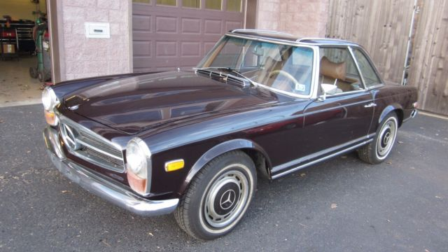 1970 mercedes benz 280 sl convertible for sale mercedes benz sl class w113 1970 for sale in. Black Bedroom Furniture Sets. Home Design Ideas