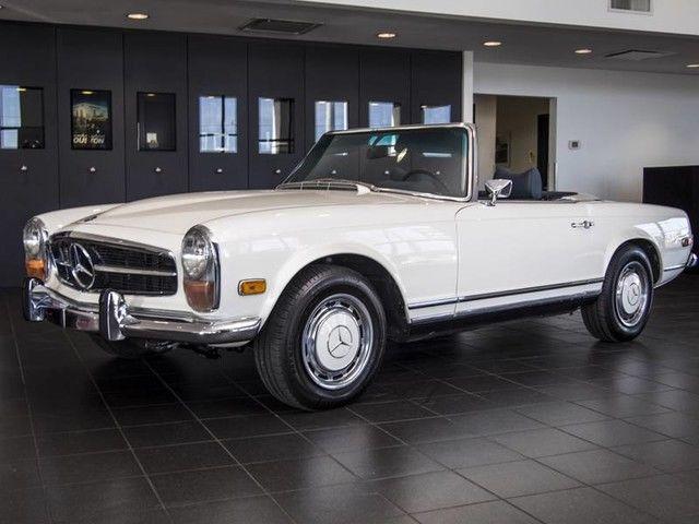 1970 mercedes benz 280sl pagoda automatic restored 43k for Mercedes benz 280sl pagoda for sale