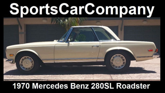 1970 mercedes benz 280sl roadster rust free 2 owner for Mercedes benz 10k