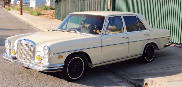 1970 mercedes mercedes benz 280s california needs tlc for Mercedes benz used parts los angeles