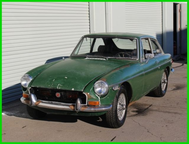 1970 Mgb Gt Coupe Stored Many Years Complete For Sale Mg