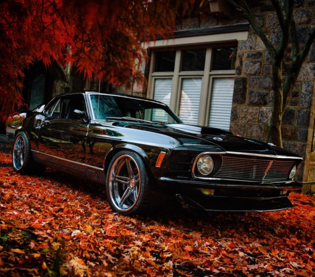1970 Mustang Mach 1 Fastback Pro Touring- Resto Mod