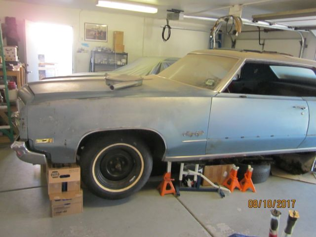 1970 Oldsmobile 98 two door coupe project car, tons of