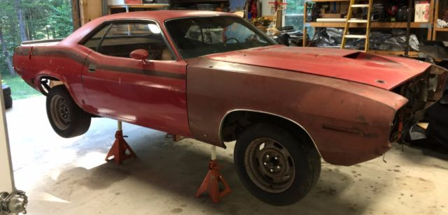1970 Plymouth AAR Cuda Barracuda Numbers Matching EK2 Orange, 4