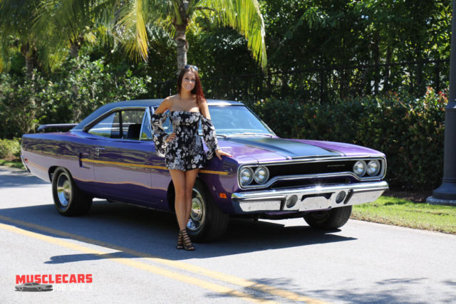 1970 Plymouth Road Runner Matching Fc7 Plumcrazy Purple