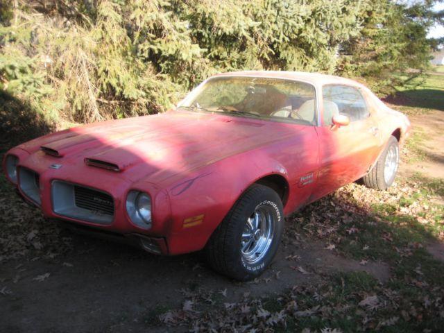 1970 Pontiac Firebird Formula Project For Sale Pontiac