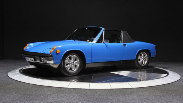 1970 Porsche 914 6 Matching Numbers Rare Color For Sale