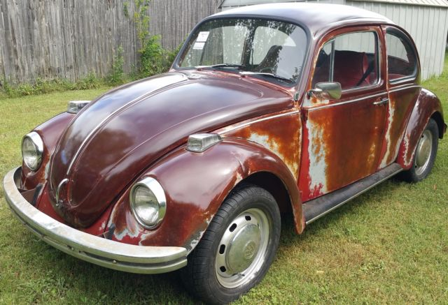 Vw Bug Patina With Clear Coat Numbers Matching