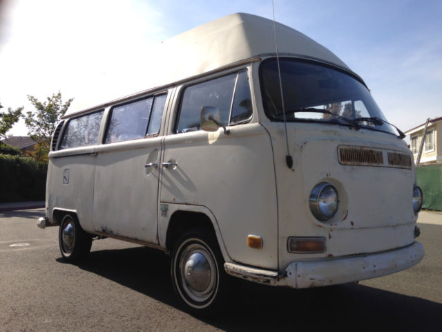 1970 vw bus subdial high top camper for sale volkswagen bus vanagon 1970 for sale in irvine. Black Bedroom Furniture Sets. Home Design Ideas