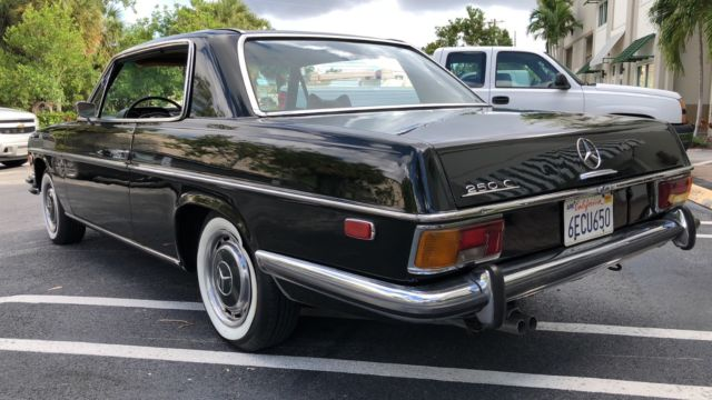Mercedes Benz Pompano >> 1971 1972 1970 MERCEDES 250C COUPE W114 CLASSIC for sale ...
