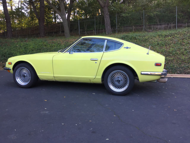1971 240z SUNSHINE YELLOW for sale - Datsun Z-Series 1971 ...