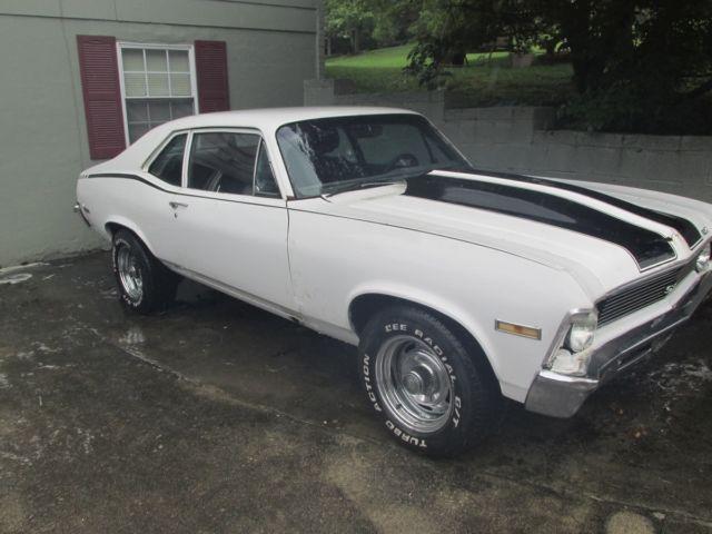 1971 71 Chevy Nova 2 Door Coupe 350 383 Stroker Th350 10 Bolt Posi For Sale Chevrolet