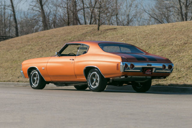 1971 Chevrolet Chevelle Ss454 Ls5 4 Speed Correct Colors With Build Sheeet For Sale Chevrolet