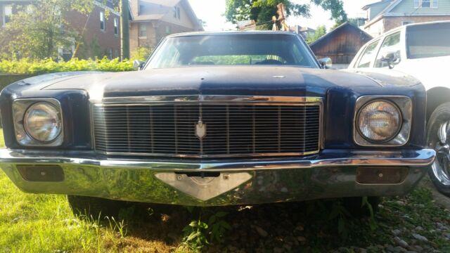 1971 Chevrolet Monte Carlo 350 5 7l Th350 Automatic Transmission Bucket Seats For Sale Chevrolet Monte Carlo 1971 For Sale In Cincinnati Ohio United States