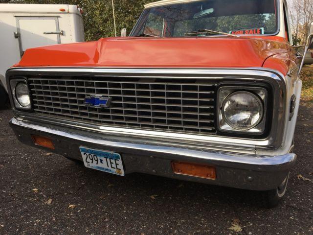 1971 chevy c10 2wd fleetside long box ton pickup truck for sale chevrolet c 10 1971 for. Black Bedroom Furniture Sets. Home Design Ideas