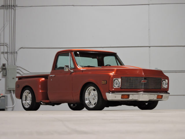 1971 chevy c10 nut bolt restoration supercharged ls2 for C k motor car sales