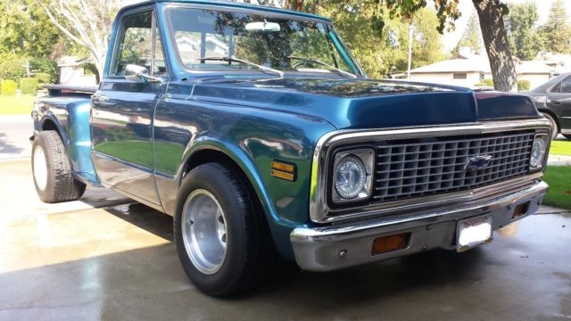 1971 chevy c10 step side pickup clean for sale chevrolet c 10 1971 for sale in bakersfield. Black Bedroom Furniture Sets. Home Design Ideas