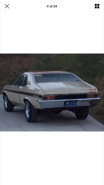 1971 chevy chevrolet rally Nova original ca blue plate car