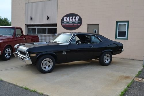 1971 chevy nova black american hot rod top off restoration for American restoration cars for sale