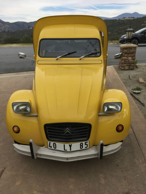Citroen 2Cv For Sale >> 1971 Citroen Fourgonnette for sale - Citroën 2CV Fourgonnette 1971 for sale in Ramona ...