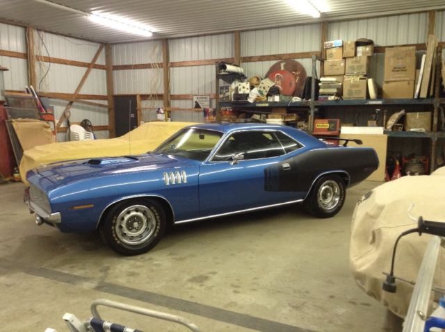 1971 Cuda 440 Six Pack 4 Speed For Sale Plymouth